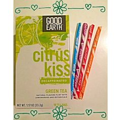 Lightly sweet Citrus Kiss is the perfect grown-up match for Pixie Sticks.