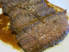 C.A.K.E.: 鹽麴香蒜牛排 Garlic Steak with Creamy Koji Sauce 7/21/2014