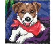 Playful Pup - Click on the link ( Playful Pup Project Sheet ) on the website for the printable pattern.