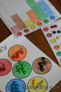 Sorting, Pictograph and Bar Graph...