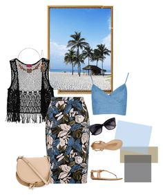 """Island Girl"" by tia2 ❤ liked on Polyvore featuring Lonely Planet, Boohoo, Report and Chloé"