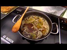 Karlos Arguiñano en tu cocina: Sopa japonesa - YouTube
