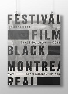 CONCOURS D'AFFICHES |  Montreal International Black Film Festival, 10ème édition.