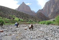 #Trekking the Atlas Mountains (Photo: Peaks Foundation)