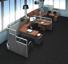 How would you configure our RiZe modular panel system in your office? This is available exclusively from OFM and can be assembled in minutes with no tools required! http://ofminc.com/rize.asp