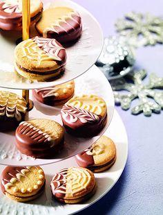 Čokoládovo - marcipánové tolary