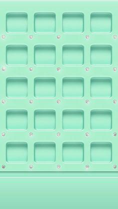 Green Plastic Frames iPhone 5/5C/5S Wallpaper