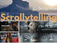 Longform, Web-Reportage, Multimedia-Storytelling, Scrollytelling: Die ultimative Liste mit 60+ Beispielen