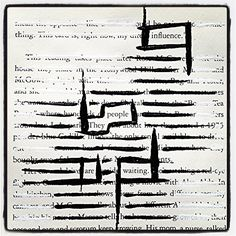 The World Is Your Audience: Make Black Out Poetry, Black Out Poetry, Poetry