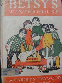 Betsy's Winterhouse by Carolyn Haywood by BarnshopAntiques on Etsy
