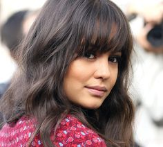 Courtney Eaton will make you want to cut a fringe | Honey