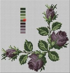 103 Likes, 3 Comments - kanevi Beaded Cross Stitch, Cross Stitch Rose, Cross Stitch Borders, Cross Stitch Flowers, Cross Stitch Charts, Cross Stitch Designs, Cross Stitching, Cross Stitch Embroidery, Cross Stitch Patterns