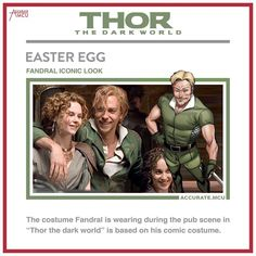 """Gefällt 5,667 Mal, 24 Kommentare - • Accurate.MCU • mcu fanpage (@accurate.mcu) auf Instagram: """"• FANDRAL ICONIC LOOK - EASTER EGG • I love little nods like this. I wanted to make this post for…"""""""