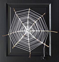 Askartele Halloween-koristeeksi karmea hämähäkinseitti | Kodin Kuvalehti