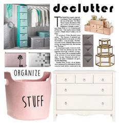 """""""Organize & Declutter"""" by by-jwp ❤ liked on Polyvore featuring interior, interiors, interior design, home, home decor, interior decorating, PBteen and Umbra"""