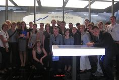 I was with my team in Frankfurt Stock Exchange