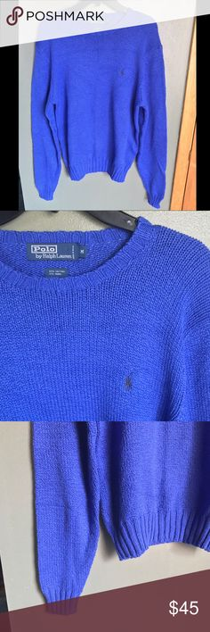 🏇🏻Polo by Ralph Lauren Sweater Vibrant sweater - Polo by Ralph Lauren. No flaws! Polo by Ralph Lauren Sweaters