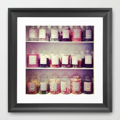 Candies  Framed Art Print by Martyna Olczak - $35.00