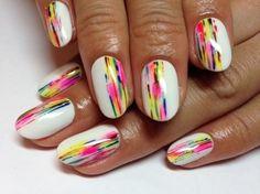 electric rainbow effect