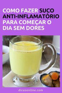 Anti-inflamatório Caseiro - Suco