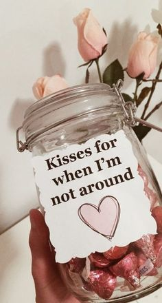 New birthday box ideas for boyfriend mason jars Ideas Presents gifts for boyfriend diy Birthday Gifts For Boyfriend Diy, Creative Gifts For Boyfriend, Cute Boyfriend Gifts, Bf Gifts, Boyfriend Birthday Ideas Creative, Valentines Presents For Boyfriend, Surprise Boyfriend, Best Friend Gifts, Boyfriend Surprises