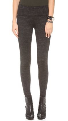 GETTING BACK TO SQUARE ONE Zip Leggings with Contrast