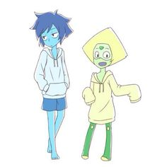 Lapis And Peridot Lazuli Camping Set Lapidot Steven Universe Anime Girls Mlp Fanart Games Movies Fan Art My Little Pony