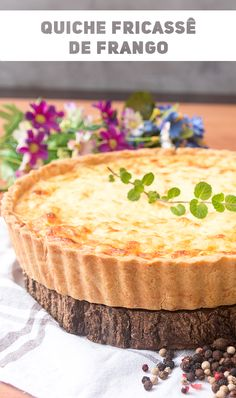 Quiches, Garlic Pizza, Crockpot Recipes, Cooking Recipes, Quiche Lorraine, Coffee Break, Easy Cooking, Food Pictures, Food And Drink