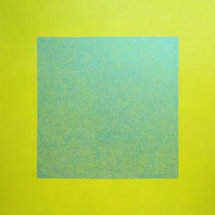 James R Ford, Blue scribble filling a yellow square, 2010 Scribble, Fields, Yellow, Blue, Ford, Doodles, Gold