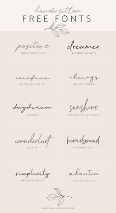 Handwritten Free Fonts Posted by Skyla Design . - Handwritten Free Fonts Contributed by Skyla Design … – - Mini Tattoos, Body Art Tattoos, Tatoos, One Word Tattoos, Name Tattoos, Sister Tattoos, Tattoo Words, Tattoo Phrases, Danty Tattoos