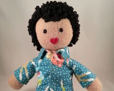 Make-A-(IndigoMuse)Friend heirloom doll with pajamas - Etsy