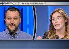 Scontro Boschi-Salvini una brutta pagina di comunicazione politica - Affaritaliani.it