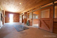 A horse barn as nice as a human home
