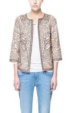 Gorgeous embroidered blazer