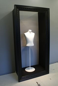 When I build a house someday, I'm displaying my wedding dress my closet with something like this.