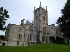 A gorgeous, gothic castle. Creepy even when it's not Halloween and always worth a trip!