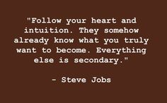 Great Quote from Steve Jobs | Texas Farmers Daughter