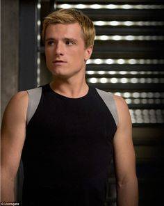 Movie hunk: Josh 22 is known for playing athletic Peeta Mellark in ... #summer