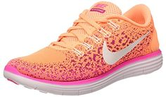 big sale ac868 ba884 Nike Womens Free RN Distance Running Trainers 827116 Sneakers Shoes US 85  atomic orange white pink blast 800 -- Learn more by visiting the image link.