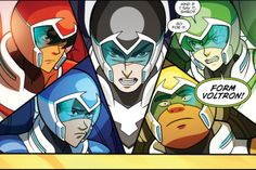 PIDGE DID THE THING!!! - Voltron Comic, Vol. 1 Chpater Four: The Riddle of the Sphinx - Keith, Lance, Shiro, Hunk, Pidge