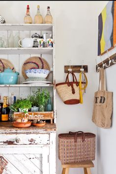 Rustic kitchen ideas from insideout.com.au. Photography by Felix Forest.
