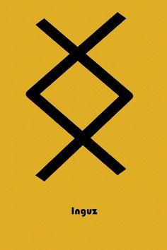 Viking Bind Rune Peace Happiness Black Vinyl Decal