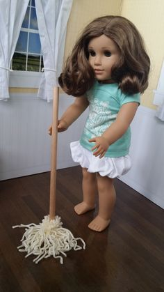 American Girl Doll Crafts and Fun!: Quick Craft: Make a Mop for Your Doll