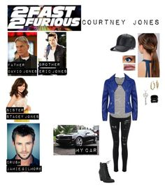 """""""Me in """"2 Fast 2 Furious*"""" by c-a-marie2000 ❤ liked on Polyvore featuring Blue Nile, DB Designs, Hot Topic, maurices and Armani Jeans"""