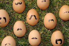 Happy Easter Mustache Eggs!