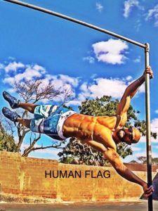 Bandeira humana (Human Flag)  Calistenia - Blog F15D Human Flag, Muscle Up, Street Workout, Upper Body, Nice Body, Fitspiration, Blog, Calisthenics, Bodybuilder