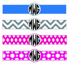 Monogram wrap designs, SVG, DXF, & EPS. Silhouette Studio and Cricut design space phone chargers, cups, etc.