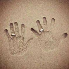 Love this idea for a Beach wedding