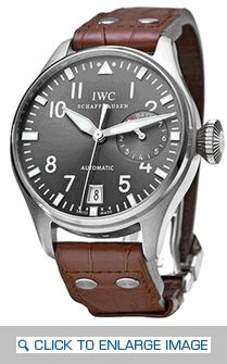 The ‪‎IWC‬ Big Pilot's Watch Brown Leather Strap