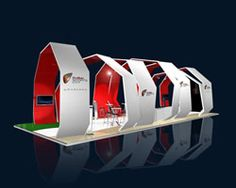 16m x 9m Custom Modular Exhibition Stand Design